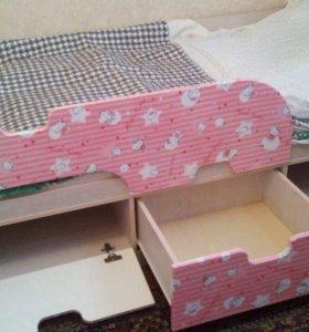Детская кровать пинк