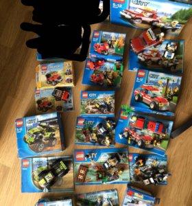 Пакетом Lego City🎉10 наборов