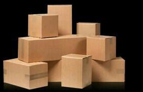 Картонные коробки для перевозки вещей