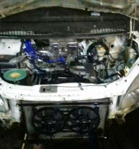 Установка Toyota моторов на газель