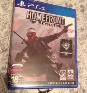"""Игра PS4 ,,HOMEFRONT"""" the revolution и доп код"""