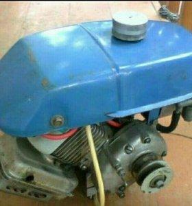 Продаю двигатель в сборе от крота мк-01