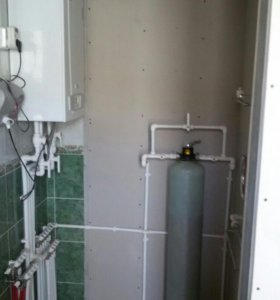 Отопление.Водопровод из колодца и скважины.