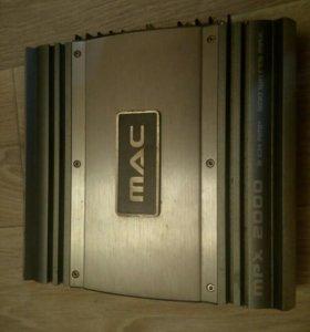 Продам усилитель Mac Audio MPX 2000