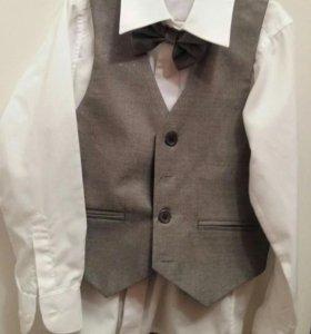 Брюки,жилетка,рубашка для мальчика