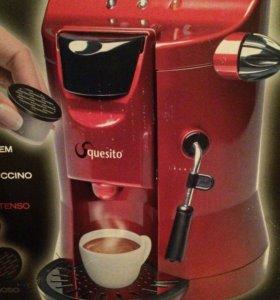 Капсульная кофемашина(новая)с капучинатором