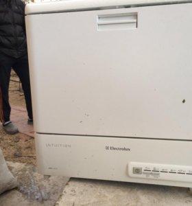 Компактная посудомоечная машина esf 2410 electrolu