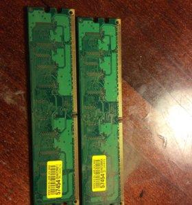 Оперативная память 512 MB,цена за 3Шт!