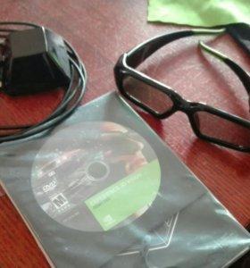 Очки 3D Nvidia для компьютера