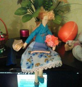 Интерерные куклы тилда