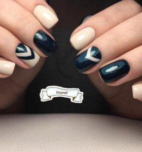 Ногти маникюр shellac