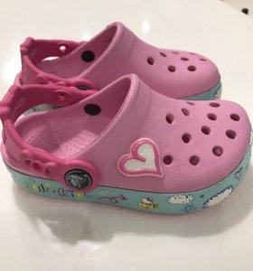 Crocs розовые c9