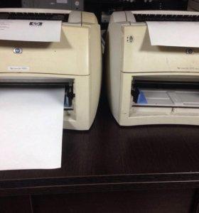 Принтер hp laserjet 2 шт