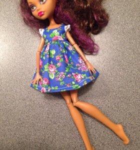 Платье для куколки монстер хай