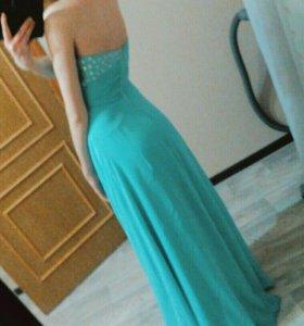 Длинное платье на выпускной/свадьбу/торжество