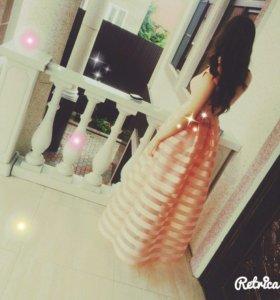 нежное платье на выпускной ✨