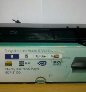 Blu-ray/DVD/USB/Internet плеер Sony