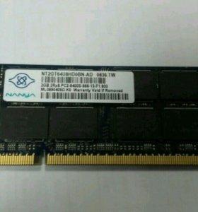 Оперативная память для ноутбука в ассортименте