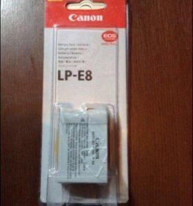 Новый оригинальный аккумулятор Canon
