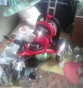Трех колесный детский велосипед mars traik