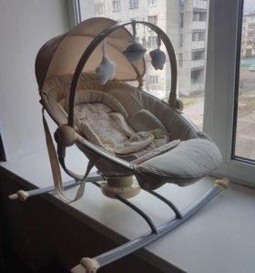 Детский шезлонг Jetem Relax для новорожденных