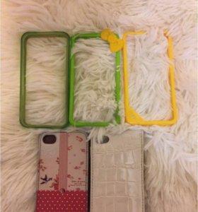 Чехлы для iPhone 4(s).