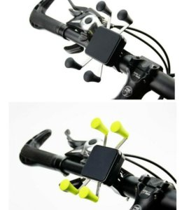 Держатель телефона на руль велосипеда или мотоцикл