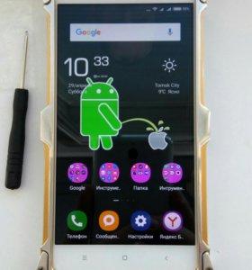 Металл чехол на Xiaomi R N 3 pro.