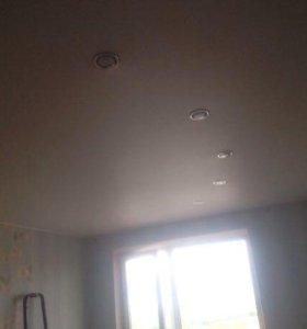 Потолок на кухню от6- 11м