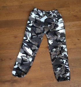 Новые штаны хаки