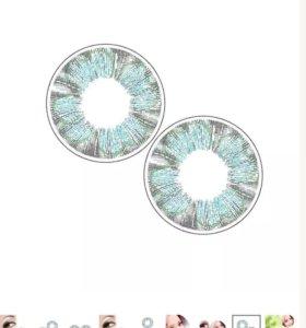 Линзы контактные цветные  💓