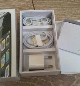 Iphone 4s black 16gb не б.у
