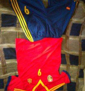 Футбольная форма испания
