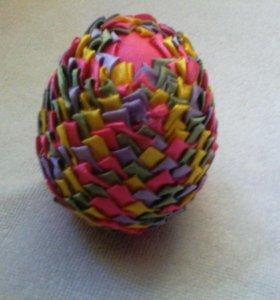 Яйцо пасхальное ручная работа