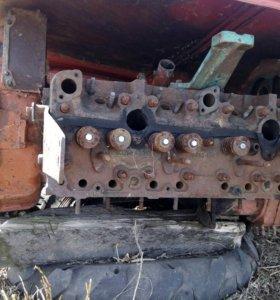 Двигатель снд. (Задние колёса комбайна)