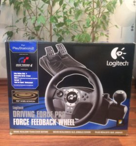 Игровой руль Logitech driving force pro