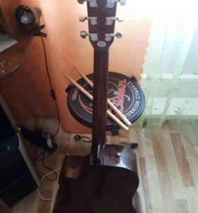 Fender электроакустическая гитара