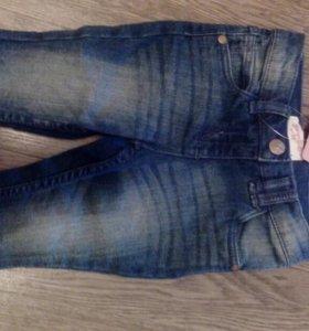 Новые джинсы на 74-80