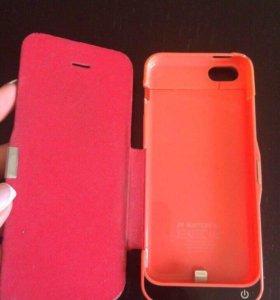 Чехол -аккумулятор на iPhone 5/5s