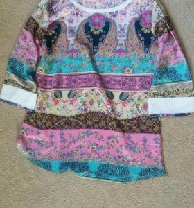 Новая блузка 46-48 р-р