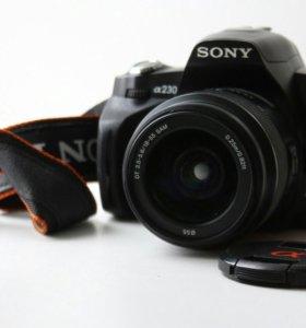 Фотоаппарат Sony A230 kit 18-55mm