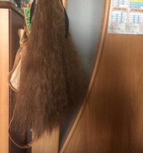 Парик на хвост для объема и длины волос