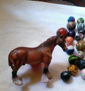 Лошадка статуэтка тяжелая