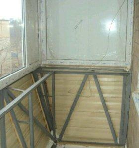 Балконы под ключ за 3 дня