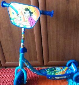 Самокат детский трех колесный