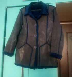 Куртка двухсторонняя. Кожа с лазерной обработкой.