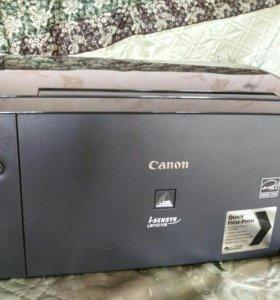 Принтер Canon, лазерный, монохромный