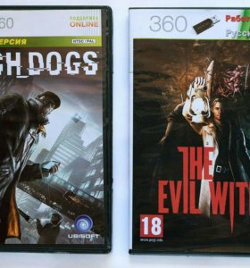Watch Dogs и The Evil Within на Xbox 360