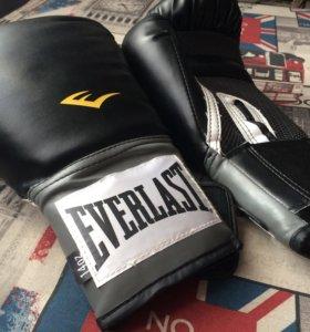 Боксерские перчатки Everlast pu pro style новые