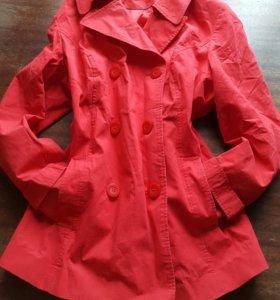 Демисезонный плащ пальто куртка